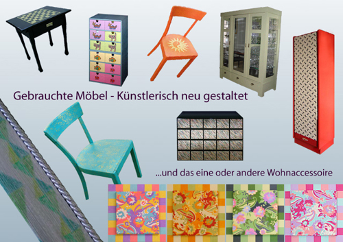 meinewerke bunte m bel. Black Bedroom Furniture Sets. Home Design Ideas